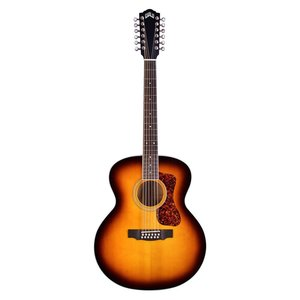 Guild F-2512-E 12-String Jumbo, Solid Spruce Top, Maple Back, Antique Burst