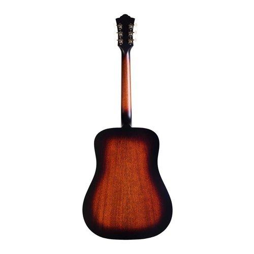 Guild Guild D-20-E Electro-Acoustic Dreadnought Guitar, All Solid Mahogany, Antique Burst