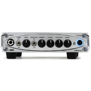 Gallien Krueger MB 200 Lightweight 200W Bass Amp Head
