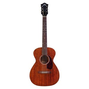 Guild M20-E Electro-Acoustic Parlour Guitar, All Solid Mahogany, Natural