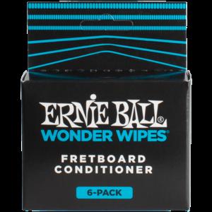 Ernie Ball Wonder Wipes Fret Conditioner 6-Pack