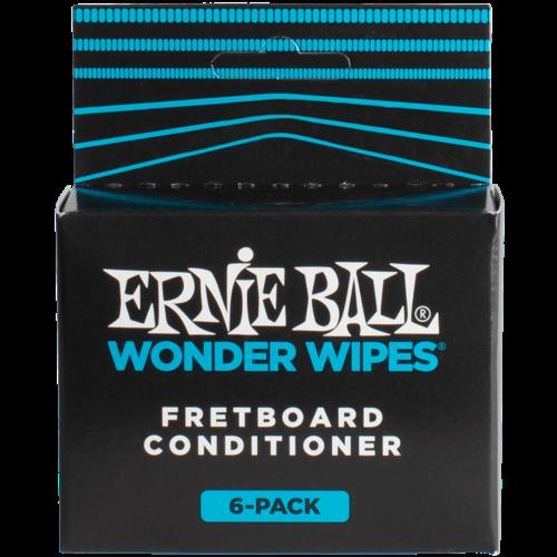 Ernie Ball Ernie Ball Wonder Wipes Fret Conditioner 6-Pack
