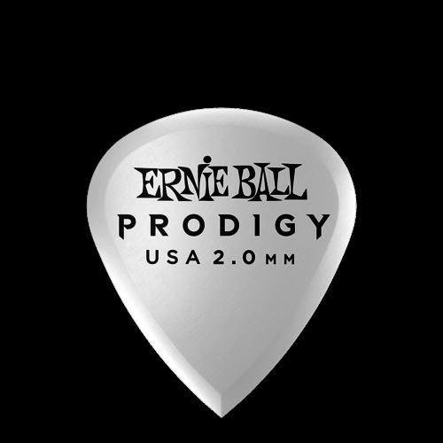 Ernie Ball Ernie Ball Prodigy Mini Picks, 6-Pack, 2.0mm