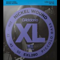 D'Addario Piccolo Bass Strings, EXL280 .020-.052