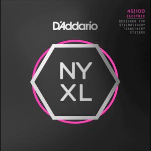 D'Addario NYXL Bass Guitar String Set, Double Ball End