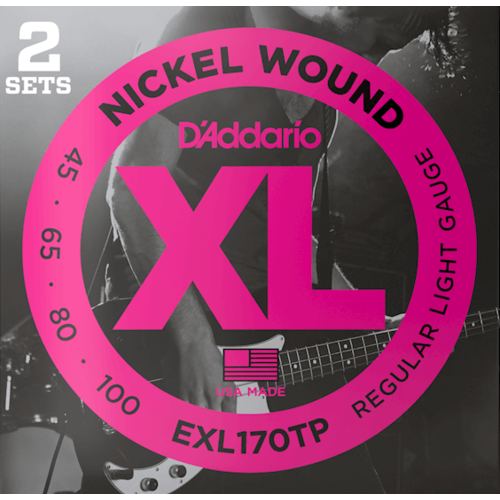 D'Addario D'Addario XL Bass Twin Pack String Sets
