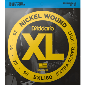 D'Addario XL Bass Guitar String Set