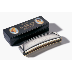 Hohner Unsere Lieblinge 32 Octave Harmonica, C