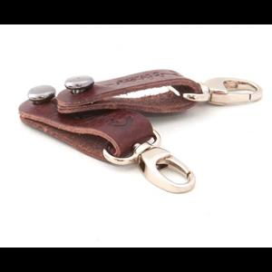 RightOn! Straplink Banjo Strap Button (Pair), Brown