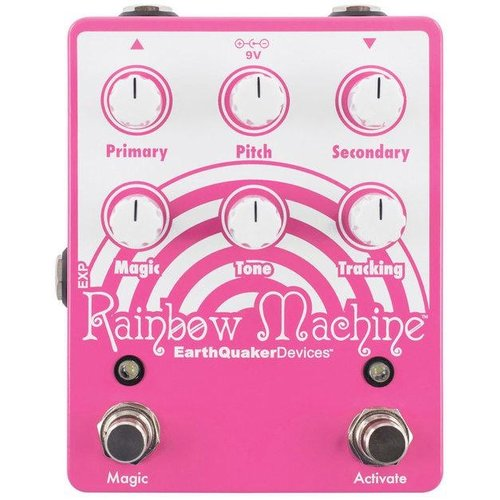 Earthquaker Devices EarthQuaker Devices Rainbow Machine V2 Polyphonic Pitch Mesmerizer Effetcs Pedal