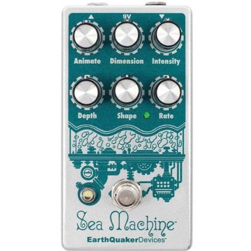 Earthquaker Devices EarthQuaker Devices Sea Machine V3 Super Chorus Effects Pedal