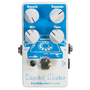 EarthQuaker Devices Dispatch Master V3 Reverb/Delay Effects Pedal