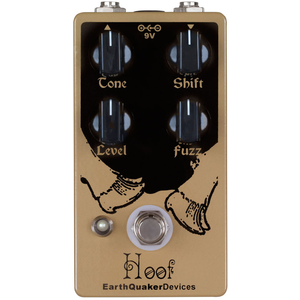 EarthQuaker Devices Hoof V2 Hybrid Fuzz Effects Pedal