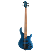 Cort B4 Plus Artisan Active Bass Guitar, w/Bartolini Pickups, Open Pore Aqua Blue