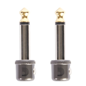 "Planet Waves Cable Station 1/4"" Mini Plug (2-Pack)"