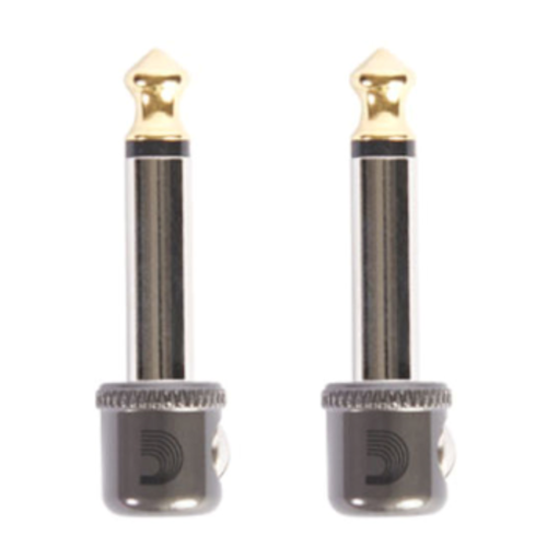 "Planet Waves Planet Waves Cable Station 1/4"" Mini Plug (2-Pack)"