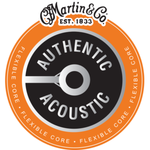 Martin Flexible Core Authentic Acoustic String Set, Phosphor Bronze