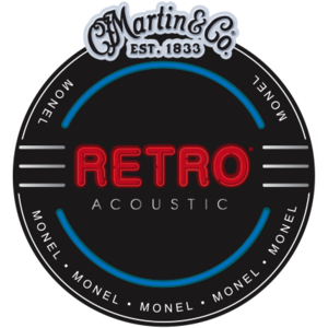 Martin Retro Acoustic String Set, Monel