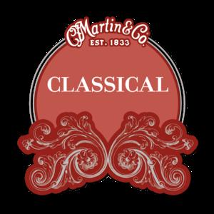 Martin Classical Guitar String Set, M160 Ball End