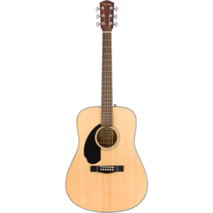 Fender CD-60S Left-Handed Dreadnought, Solid Spruce Top, Mahogany Back, Natural