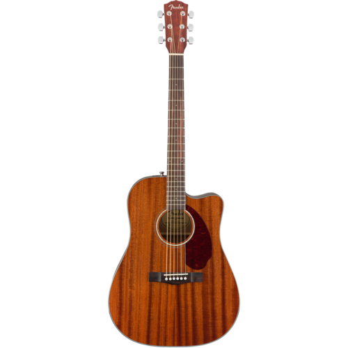 Fender Fender CD-140SCE Dreadnought Cutaway Electro, All Mahogany, Solid Top, w/ Fishman and Case