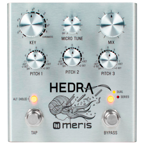 Meris Meris Hedra 3-Voice Rhythmic Pitch Shifter Effects Pedal