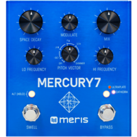 Meris Mercury7 Algorithmic DSP Reverb Effects Pedal
