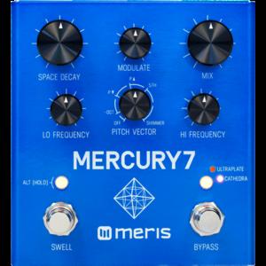 Meris Mercury7 Algorithmic DSP Reverb Effects Pedal