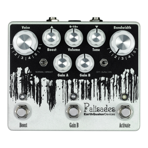Earthquaker Devices Palisades Overdrive Effects Pedal