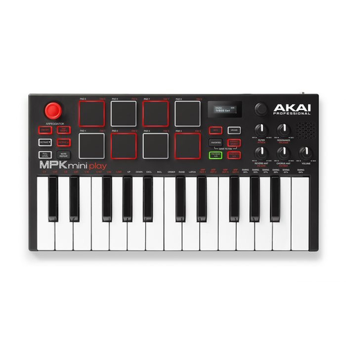Akai Akai MPK Mini Play Keyboard and MIDI Controller Keyboard with Built-in Speaker