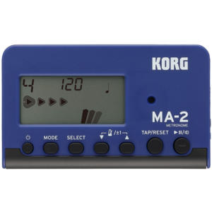 Korg MA-2 Digital Metronome in Blue/Black