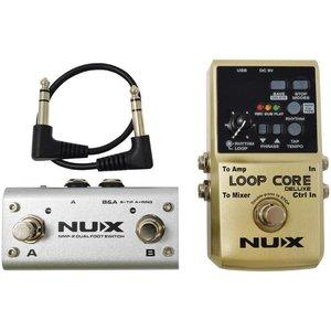NUX Loop Core Looper Pedal Deluxe Bundle