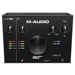M-Audio AIR 192|4, 2 in 2 out USB Audio Interface