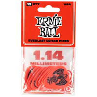 Ernie Ball Everlast Picks, 12-Pack, 1.14mm