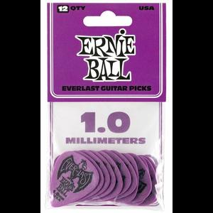 Ernie Ball Everlast Picks, 12-Pack, 1.0mm