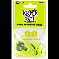 Ernie Ball Everlast Picks, 12-Pack, .88mm