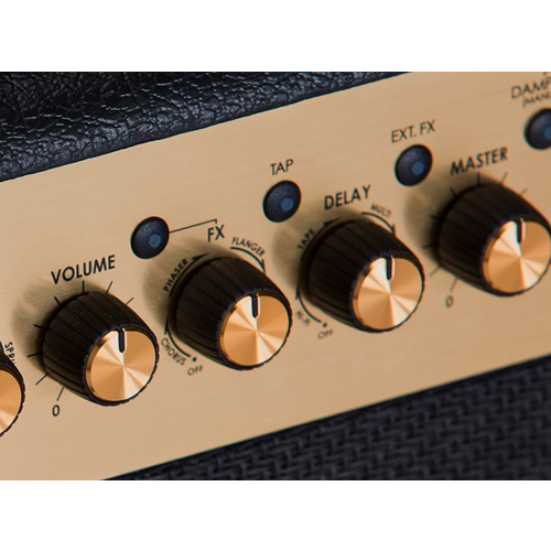 "Marshall Marshall MG102GFX 100W 2x12"" Black and Gold Amplifier w/ FX"
