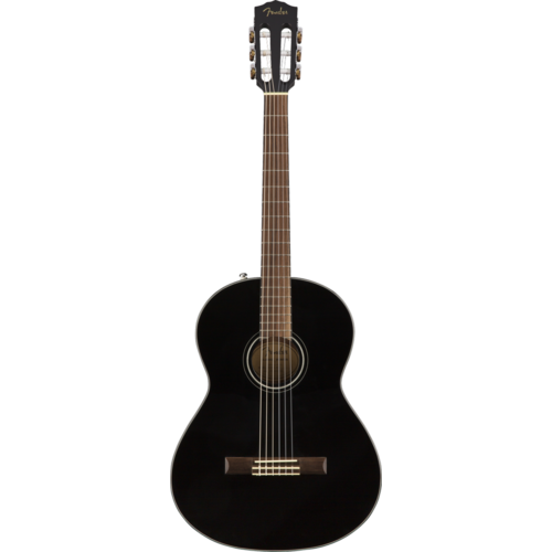 Fender Fender CN-60S Classical Guitar, Black