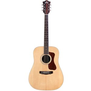 Guild D-260-E Electro-Acoustic Dreadnought, Solid Sitka Spruce Top, Striped Ebony Back and Sides
