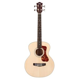 Guild Jumbo Junior Electro-Acoustic Bass, Solid Sitka Spruce Top, Flamed Maple Back & Sides