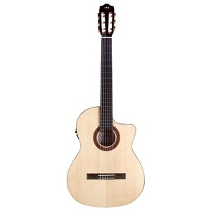 Cordoba C5-CET Limited Edition Electro-Classical Guitar, Solid Spruce Top, Spalted Maple Back and Sides