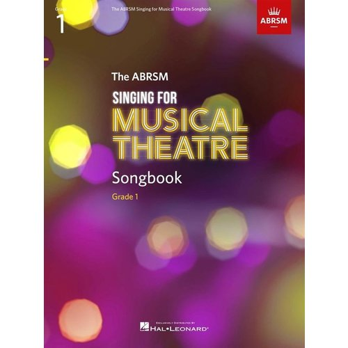 ABRSM Publishing ABRSM Singing for Musical Theatre Songbook Grade 1