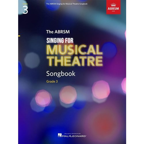 ABRSM Publishing ABRSM Singing for Musical Theatre Songbook Grade 3