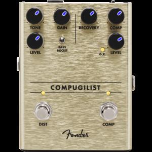 Fender Compugilist Compressor Distortion Pedal