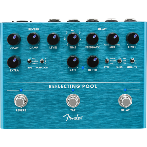 Fender Fender Reflecting Pool Delay Reverb Pedal