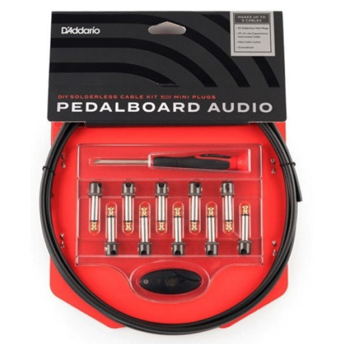 D'Addario D'Addario DIY Solderless Cable Kit with Mini Plugs