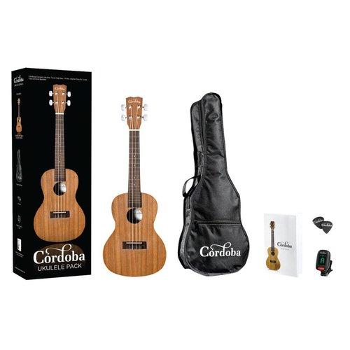 Cordoba Cordoba UP100 Concert Ukulele Pack