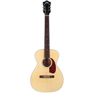 Guild M-40-E Troubadour Electro-Acoustic Parlour Guitar, All Solid, Sitka Spruce Top, African Mahogany Back, Natural