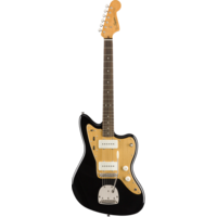Squier FSR Classic Vibe '60s Jazzmaster, Black w/ Gold