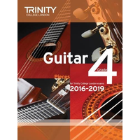 Trinity College London: Guitar Exam Pieces & Exercises 2016-2019 - Grade 4 (Book Only)